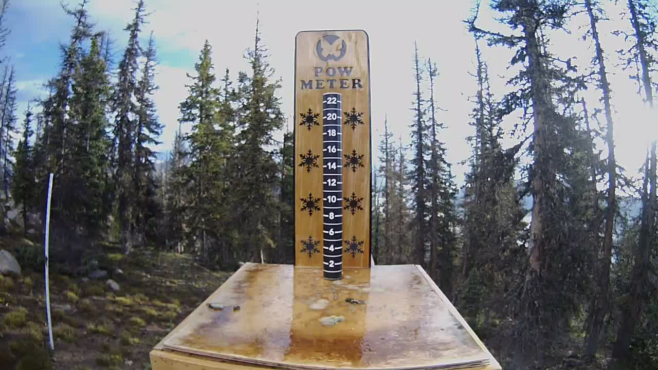 Monarch Powder Daily Snow Gauge cam